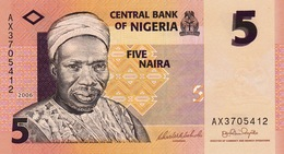 NIGERIA 5 NAIRA 2006 - Nigeria