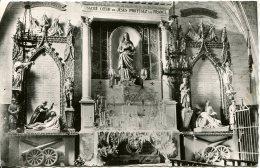 CPSM - SAINT-THIBERY - INTERIEUR DE L'EGLISE - MONUMENT AUX MORTS (ETAT PARFAIT) - France