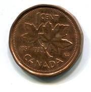 1992 Canada 1c Coin - Canada