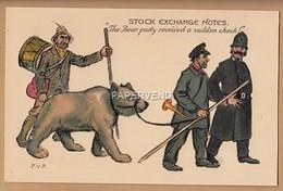 TUCK Stock Exchange Notes  P.V.Bradshaw Set Of 6 With Envelope Com12 - Stripverhalen