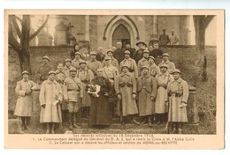 15124   CPA  MENIL Sur Belvitte : Les Décorés Militaires Sur 18/12/1916 - France