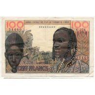 États De L'Afrique De L'ouest 100 Francs 1959 Pick 2b [AFE007 FR] - Billets