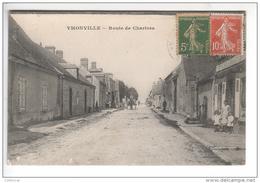 (n°471) CPA 28 YMONVILLE Route De Chartres 1918 - Autres Communes