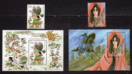 South Korea 2002 Cartoons.Mi - 2347/48 And Bl: 720/721.MNH - Korea, South