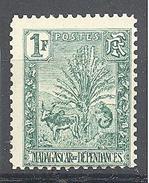 Madagascar: Yvert N° 75**; MNH - Madagascar (1889-1960)