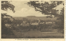 10. CHANLY-SUR-LESSE : Panorama Vu Des Missions Africaines - Wellin