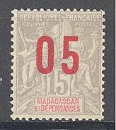 Madagascar: Yvert N° 111A**; MNH; Chiffres Espacées - Madagascar (1889-1960)