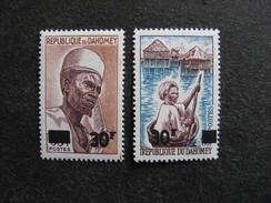 A). République Du Dahomey: TB Paire N° 253 Et N° 254, Neufs X. - Benin - Dahomey (1960-...)
