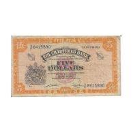 HONG KONG 5 DOLLARS  1965/1975 [ASH009 FR] - Billets