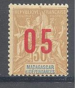 Madagascar: Yvert N° 113A*; Chiffres Espacées - Madagascar (1889-1960)