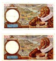 2 Billets De 100 Francs - Sully -voir état