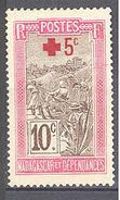 Madagascar: Yvert N° 120(*); Croix Rouge - Madagascar (1889-1960)