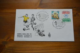 BUSTA FINALE COPPA UEFA 1992 93 JUVENTUS BORUSSIA - VENETIA - 6. 1946-.. Repubblica