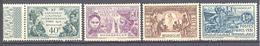 Madagascar: Yvert N° 179/182* - Madagascar (1889-1960)
