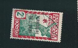 N° 36 Timbres De Guyane Surchargés ININI Guyane (1939) Neuf /charnière - Guyana (1966-...)