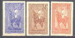 Madagascar: Yvert N° 183/184* + 87* - Madagascar (1889-1960)