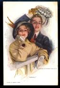 Farewell / Reinthal&Newmann Pub. / Postcard Circulated, 2 Scans - Künstlerkarten