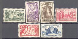 Madagascar: Yvert N° 193/198* - Madagascar (1889-1960)