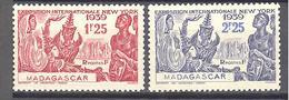 Madagascar: Yvert N° 207/208* - Madagascar (1889-1960)