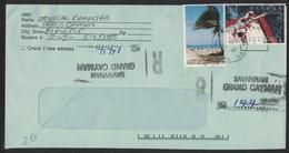 MU22      Cayman Islands Registered Savannah 1992 Cover Sportfishing,Coconut Tree - Cayman (Isole)