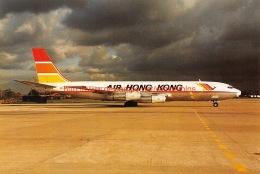 Air Hong Kong - Boeing 707 - 1946-....: Moderne