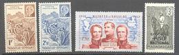 Madagascar: Yvert N° 229/231* + 233 - Madagascar (1889-1960)