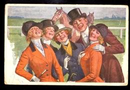 Jeunesse / Postcard Circualted, 2 Scans - Künstlerkarten