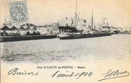 13)   Port SAINT LOUIS Du RHONE  - Bassin - Saint-Louis-du-Rhône