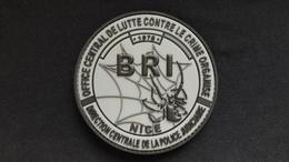 Ecusson BRI NICE - Police & Gendarmerie