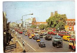 GIBSON LANE - CALCUTTA - VIAGGIATA 1980 - (317) - India