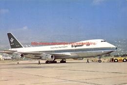 Saudia - Boeing 747 - 1946-....: Ere Moderne
