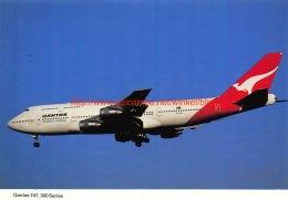 Qantas - Boeing 747 - 1946-....: Moderne