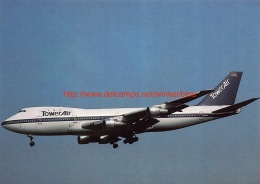 Tower Air - Boeing 747 - 1946-....: Moderne