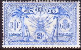 NEW HEBRIDES(English Inscr.) 1911 SG 21 2½d MH - English Legend