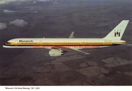 Monarch - Boeing 757 - 1946-....: Moderne