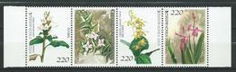 South Korea 2004 Orchids.Strip Of 4.MNH - Korea, South