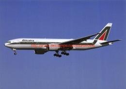 Alitalia - Boeing 777 - 1946-....: Moderne