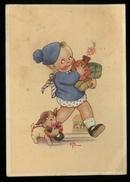 CARTOLINA - BAMBINI - KINDER - CHILDREN - ENFANTS - - VIAGGIATA 1942 (32) - Ritratti