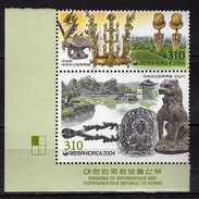 South Korea 2004 Gyenongju - UNESCO World Heritage Site.MNH - Korea, South