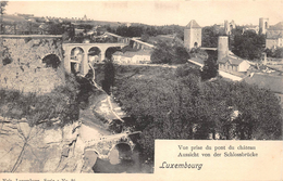 LUXEMBOURG  -  Vue Prise Du Pont Du Chateau - Aussicht Von Der Schlossbrücke - Luxembourg - Ville
