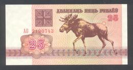 Belarus - Weißrussland 1992, 25 Rubel - UNC, Kassenfrisch - Belarus