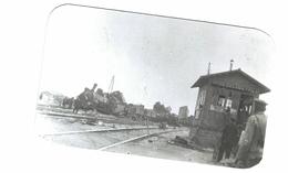 Thème - Chemin De Fer - Train - Accident Ferroviaire- Reproduction - Trains