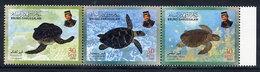 BRUNEI 2000 Turtles  MNH / **.  SG 649-51 - Brunei (1984-...)