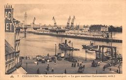 50 - Cherbourg - Beau Panorama Sur L'avant-Port - La Gare Maritime - Cherbourg