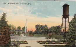 Wisconsin Kenosha West Side Curteich - Kenosha