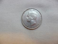 PORTUGAL 500  REIS  PLATA   1908  BC  KM#547 - Portugal