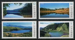 TAIWAN 2017 - Paysages, Lacs Alpins De Taiwan II - 4 Val Neuf // Mnh - 1945-... République De Chine