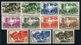 Guinea Francesa  Nº Yvert  158/68  En Nuevo* - Guinea Francesa (1892-1944)