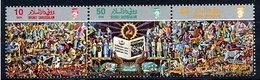 BRUNEI 1987 Language And Literature Bureau MNH / **.  SG 411-13 - Brunei (1984-...)