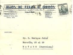 TARJETA COMERCIAL MADRID 1936 - 1931-Today: 2nd Rep - ... Juan Carlos I